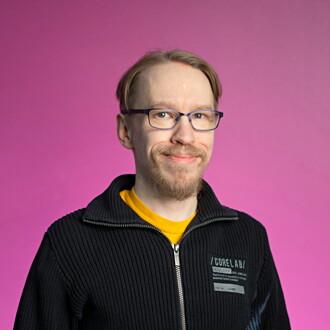 Kuva henkilöstä Harri Berglund