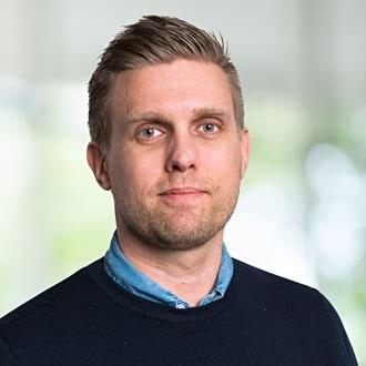 Bild på Johan Silvring