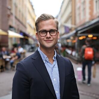 Bild på Simon Pettersson