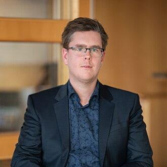 Bild på Magnus Petersson
