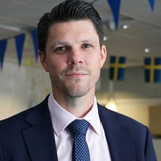 Kuva henkilöstä Erik Henrysson