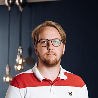 Bild på Eric Strömberg