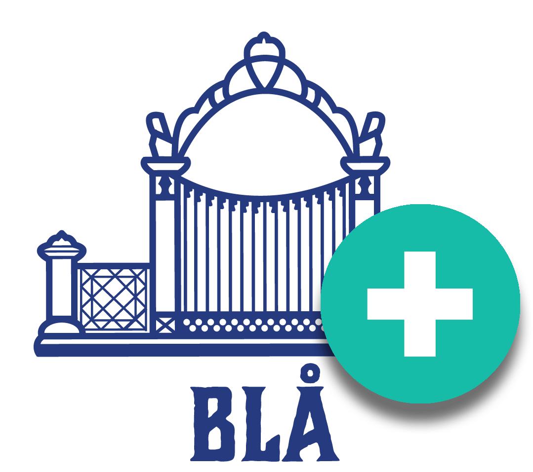 Blå Porten logo