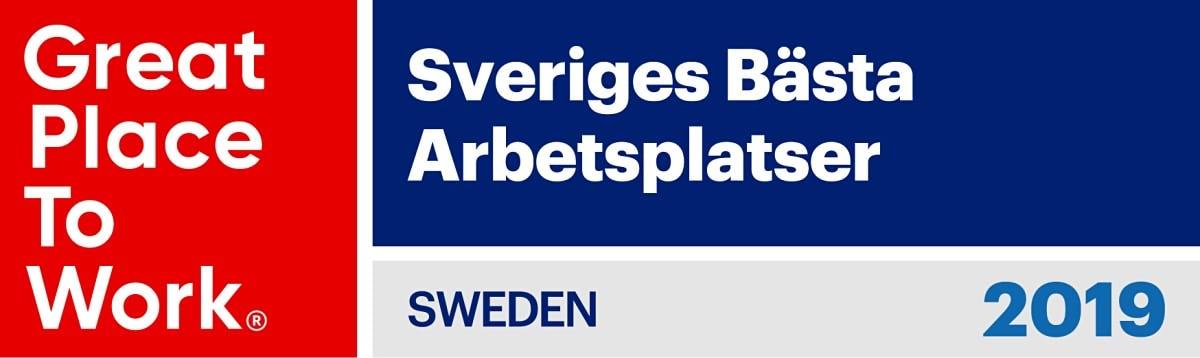 Sveriges bästa arbetsplatser 2019