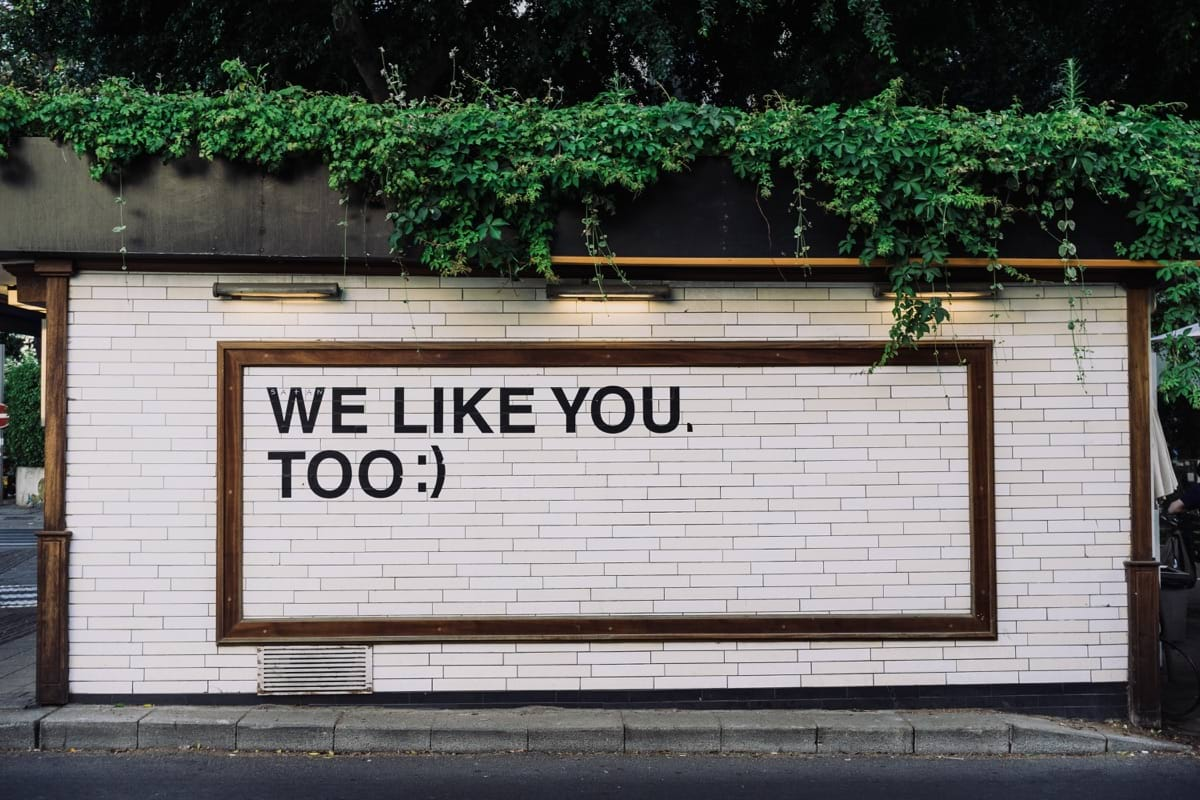 We like you too quotes on wall.jpg