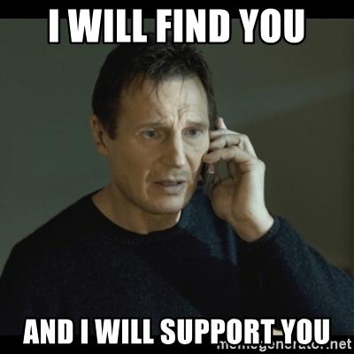 Support meme