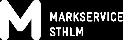 Markservice STHLM