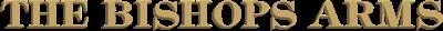 The Bishops Arms logotype