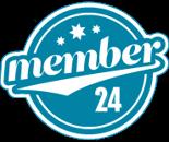 Member 24 logotype
