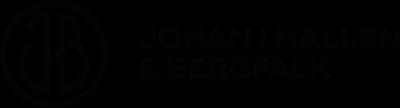 Johan i Hallen & Bergfalk logotype