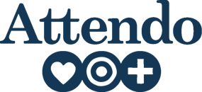Attendo Danmark logotype