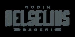 Robin Delselius bageri logotype