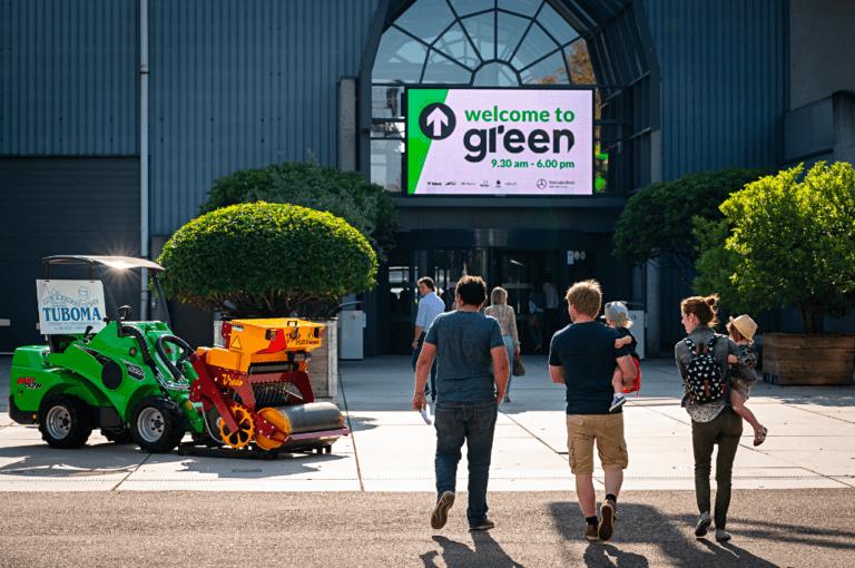 Sales Executive Green image
