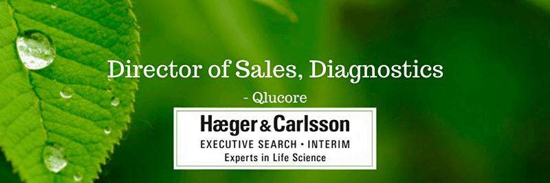 Director of Sales, Diagnostics - Qlucore, Lund image