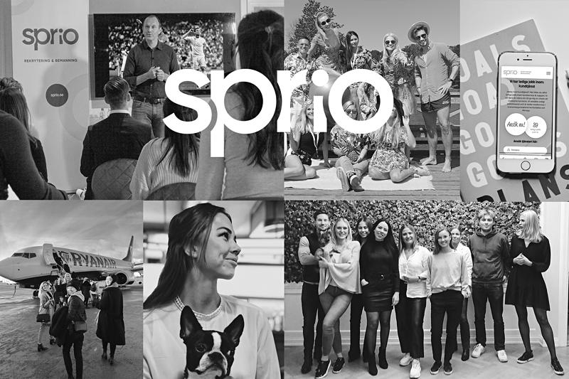 Sprudlande rekryterare på deltid internt till oss på Sprio! image