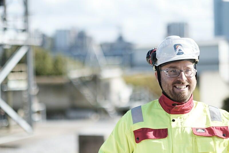 Säkerhetsvakter med fokus på arbetsplatssäkerhet till Göteborg image