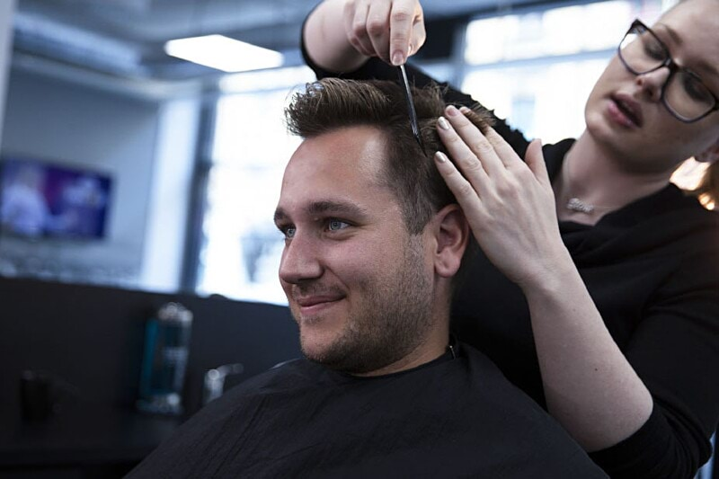 Work as a barber with M Room image