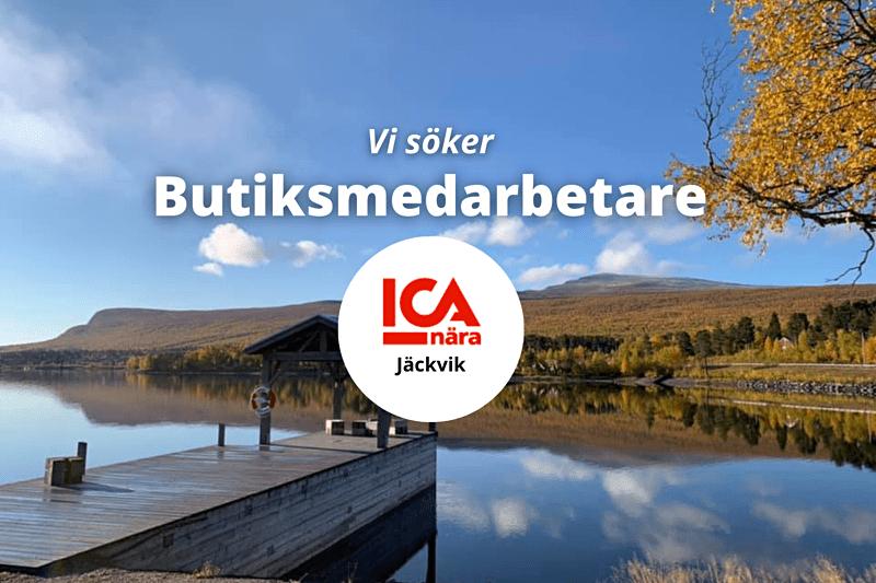Redo för en ny utmaning i fjällen? ICA Nära Jäckvik söker flera nya medarbetare! image