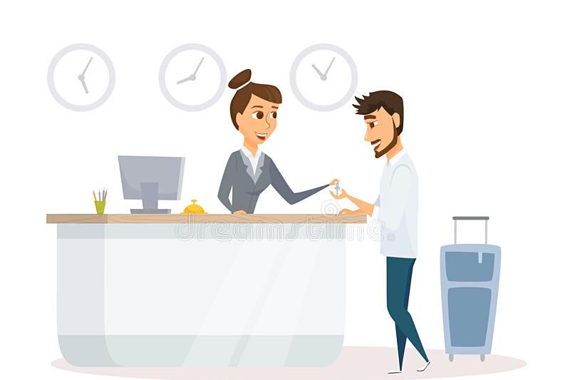 Receptionist - hotell & konferens image